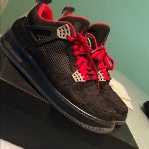 Jordan Retro 4 Black Lasers
